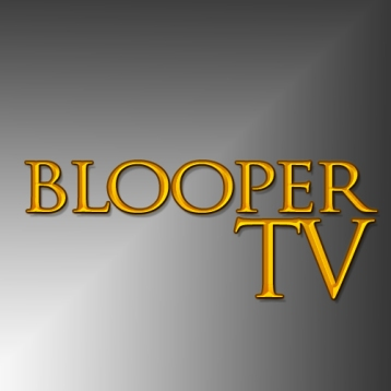 Blooper TV GOld Letters
